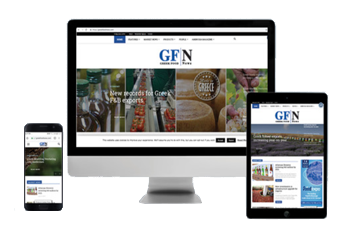 Greek food news banner