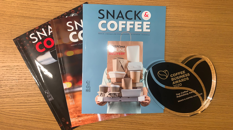 Snack & Coffee Magazine - Top Publishing Award